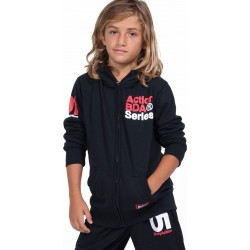 BOYS FULL ZIP JACKET BLACK