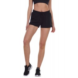 BODY ACTION WOMEN'S TRAINNING SHORTS 031127 BLACK