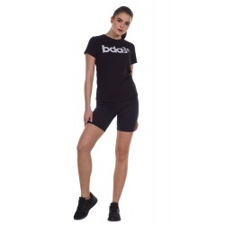 BODY ACTION WOMEN'S CYCLING SHORTS 031130 BLACK
