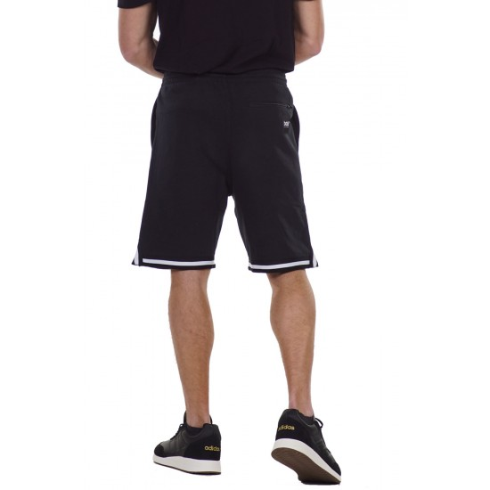 BODY ACTION MEN'S BASKETBALL SHORTS 033126 BLACK