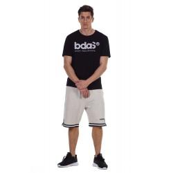 BODY ACTION MEN'S BASKETBALL SHORTS 033126 ECRU