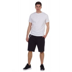BODY ACTION MEN'S CREW NECK T-SHIRT 053125 WHITE