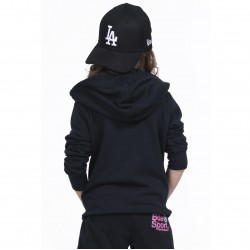 ΖΑΚΕΤΑ GIRLS BASIC ZIP HOODIE BLACK