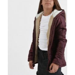 QUITED JACKET D.MAROON