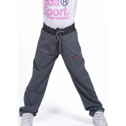 GIRLS RELAXED JOGGERS D.GREY