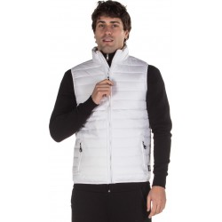 ΑΜΑΝΙΚΟ MEN ULTRALIGHT QUILTED VEST WHITE