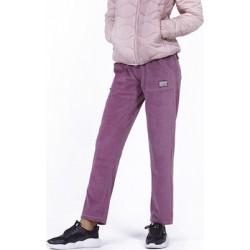 WOMEN BASIC VELOYR PANTS L.PURPLE