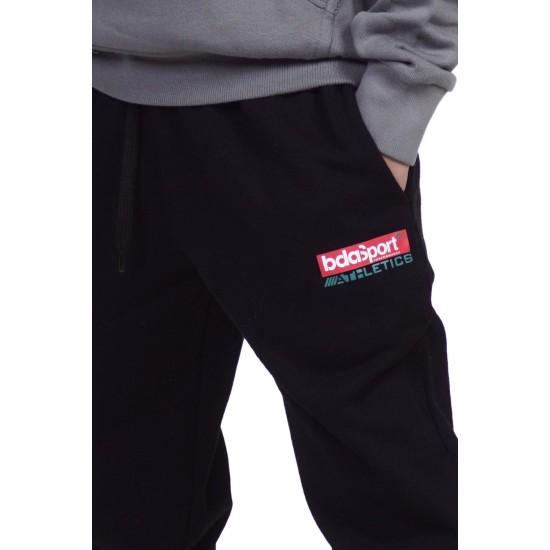 BODY ACTION BOYS SWEAT PANTS 024101-01 BLACK