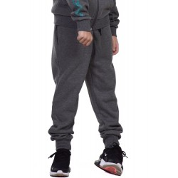 BODY ACTION BOYS BASIC SWEAT PANTS 024101-03E D.MEL.GREY