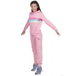 BODY ACTION GIRLS BASIC PANTS 022102-12 PINK
