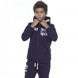 ΖΑΚΕΤΑ BOYS FULL ZIP JACKET D.BLUE