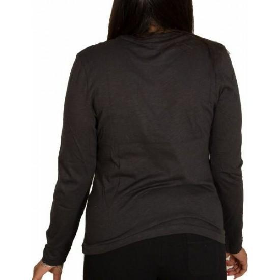 Bodytalk Slim Longsleeve Tee W 1212-908026 BLACK