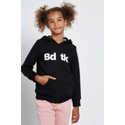 Bodytalk ζακέτα φούτερ με κουκούλα 1212-701022 Black