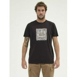 EMERSON MEN'S S/S T-SHIRT 211.EM33.66 BLACK