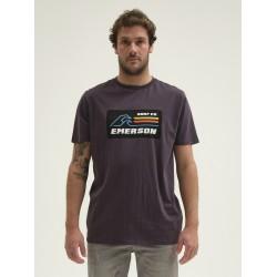 EMERSON MEN'S S/S T-SHIRT 211.EM33.02 OFF BLACK